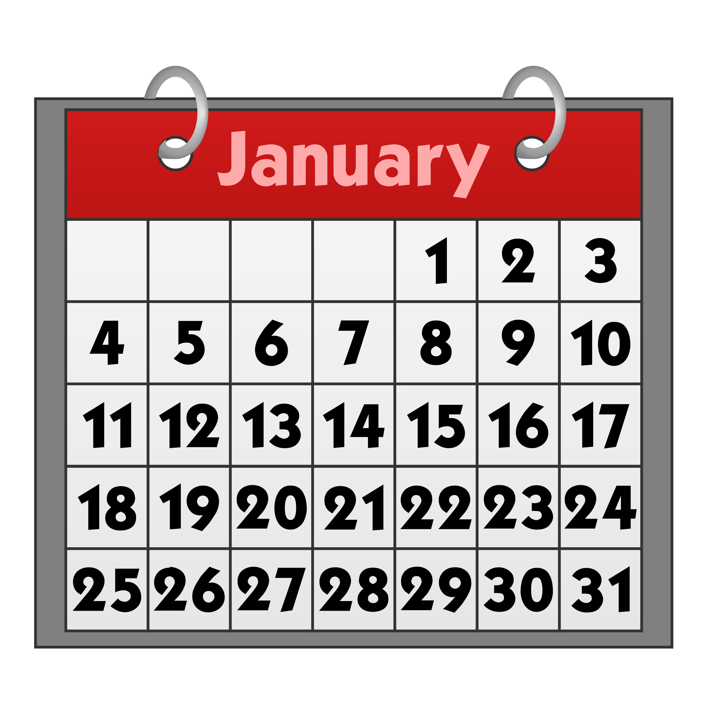 6 Calendar Png Free Download Png