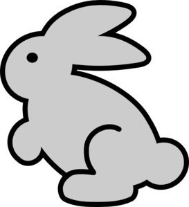 Bunny Png Black And White Free Png Images 3