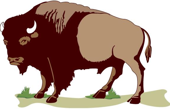 Cartoon Buffalo Png Kid