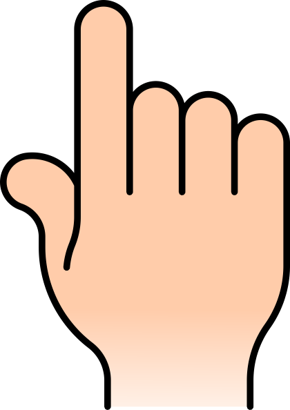 Pointing Finger PNG