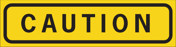 Caution Sign Caution Science png