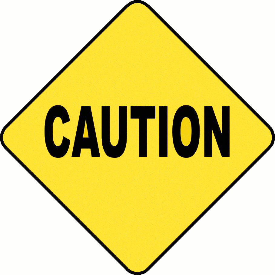 Caution Sign Free Graphics png
