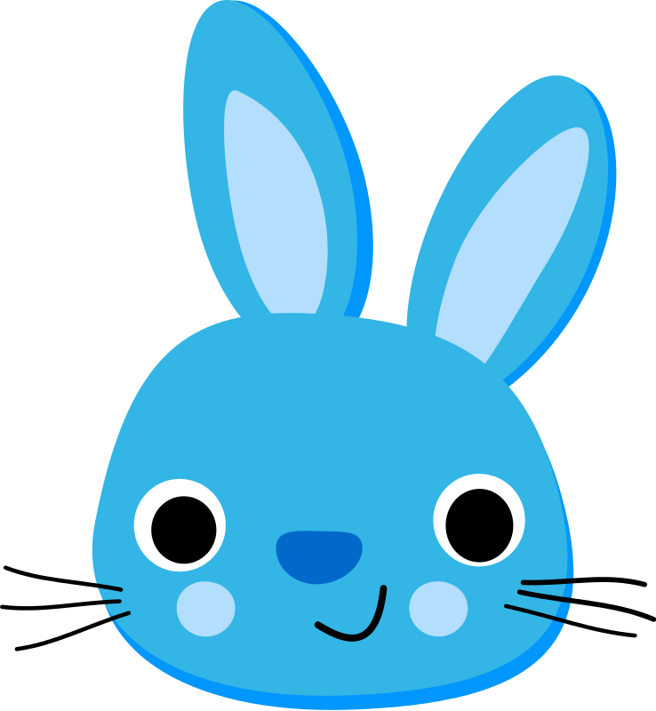 Easter Bunny Face Png Images