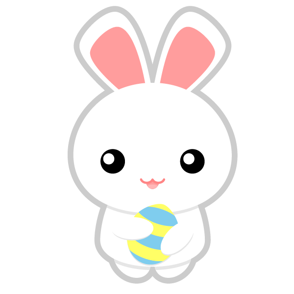 Easter Bunny Head Png