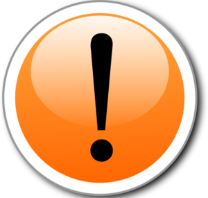 Exclamation Point Exclamation Mark Alert In A Glossy And Shiny Circle Vector Png 2