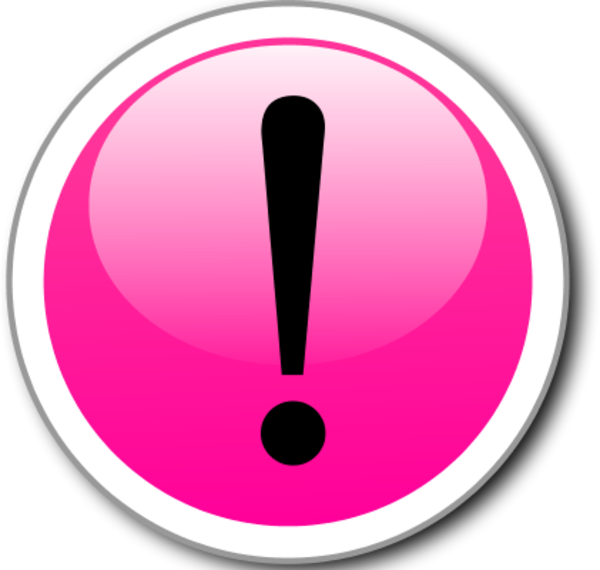 Exclamation Point Exclamation Mark Alert In A Glossy And Shiny Circle Vector Png