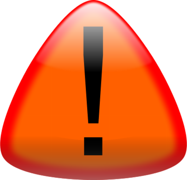 Exclamation Point Exclamation Mark Or Caution Sign In A Red Triangle Vector Png