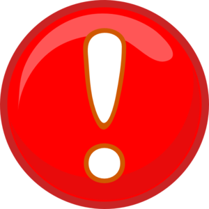 Exclamation Point Exclamation Mark Red Png At Vector Png