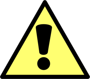 Exclamation Point Exclamation Mark Warning Sign Vector Png