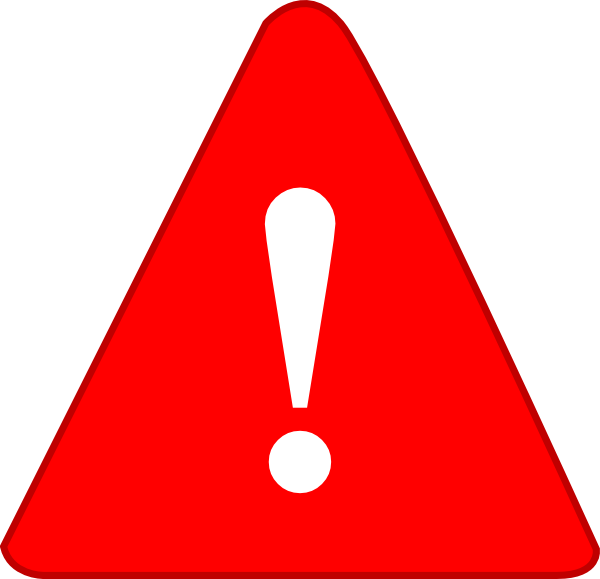 Exclamation Point Exclamation Red Png At Vector Png