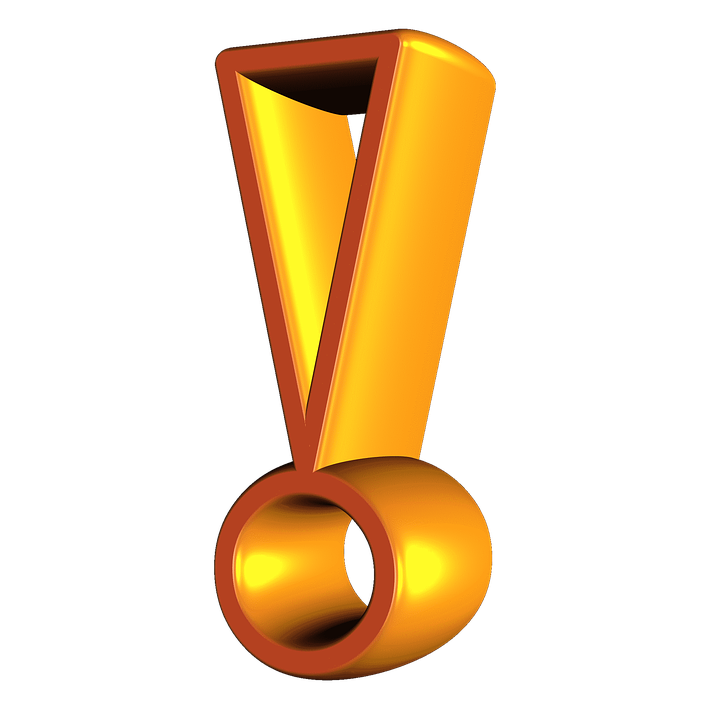 Exclamation Point Free Images On Pixabay Png