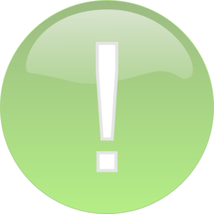 Exclamation Point Light Green Exclamation Mark Png High Quality
