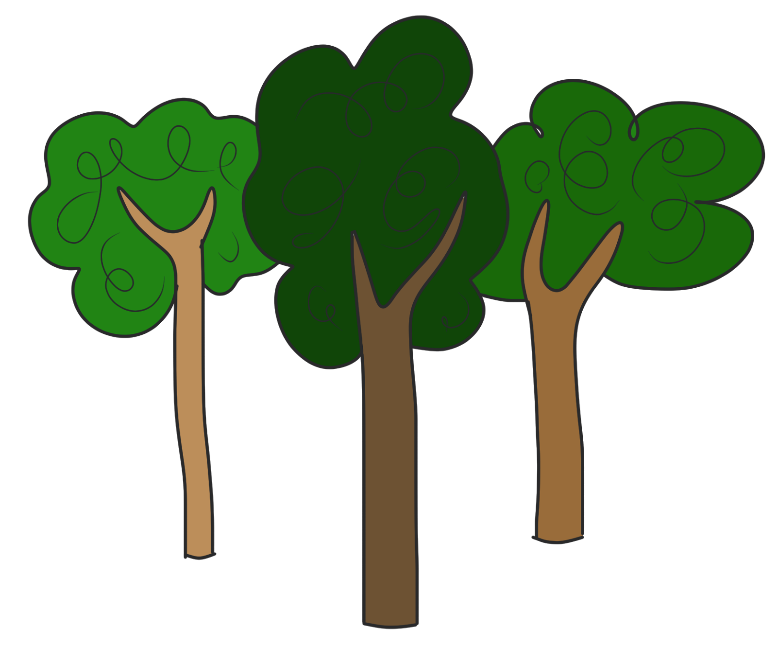 Forest Trees Png