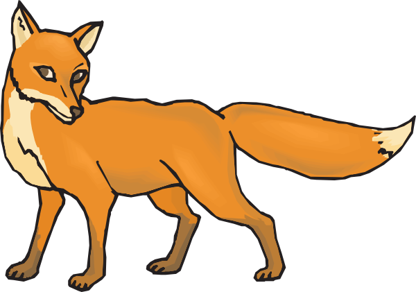 Fox Png Black And White Free Png Images