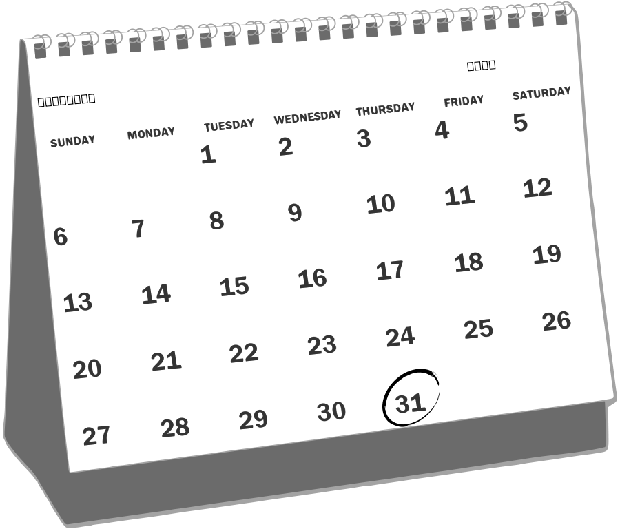 Free Calendar Png Png Pictures Graphics Illustrations