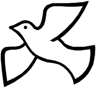 Holy Spirit Dove Png Black And White Free
