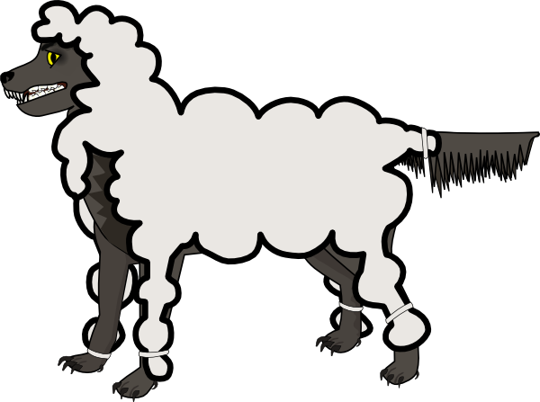 Jonadab Wolf In Sheep Clothing Png Free Vector 4vector