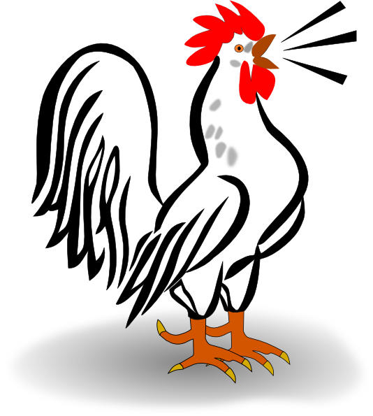 Morning Rooster Png Kid 2