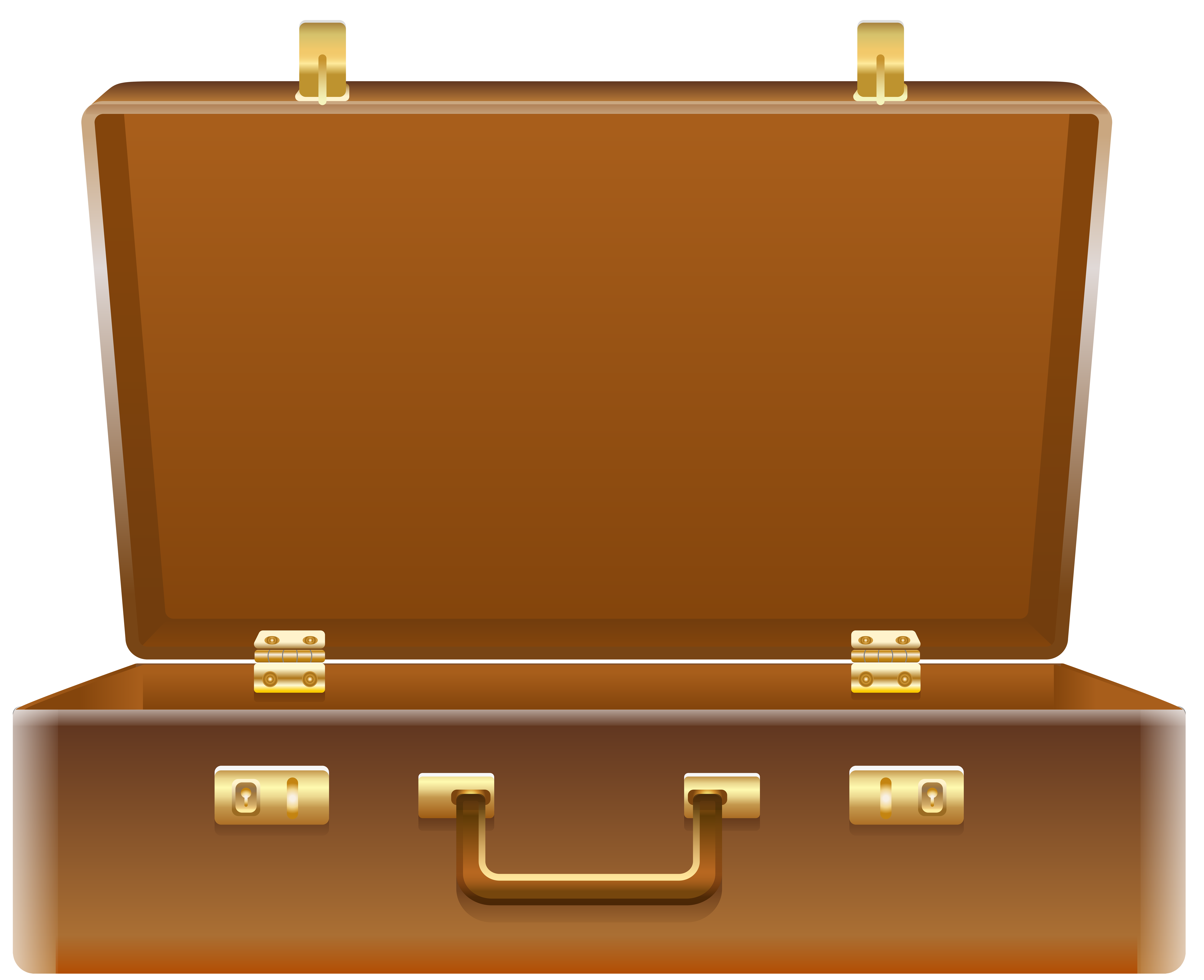 Open Suitcase PNG