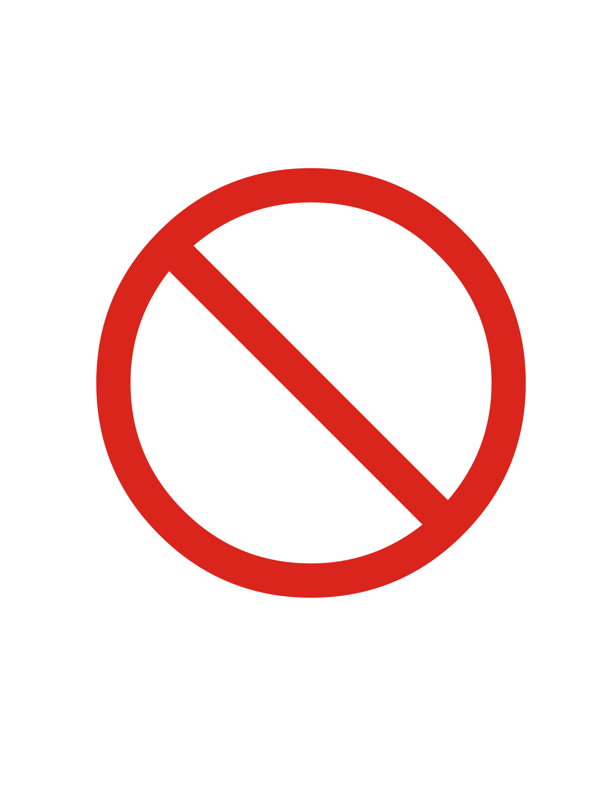Prohibited Sign Png 2