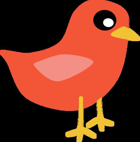 Red Cardinal Bird Vector Png Public Domain Vectors
