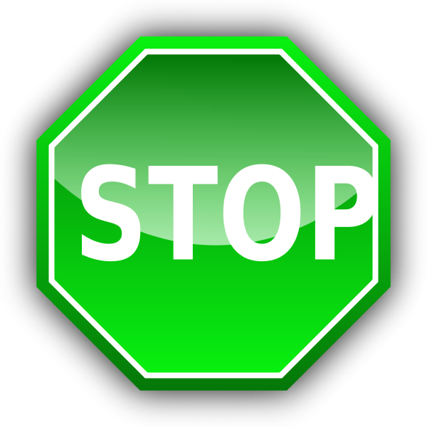 Red Stop Sign Vector Png