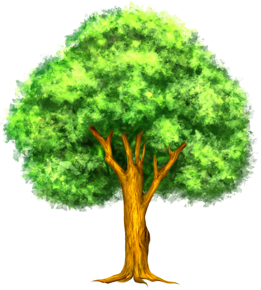 Retro Tree Png Png Vintage Trees 2