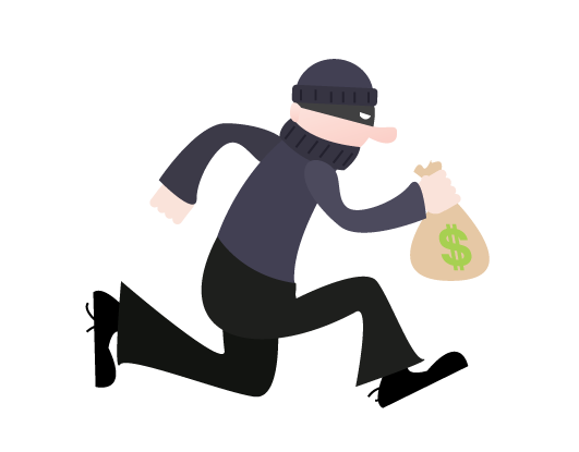 Robber PNG