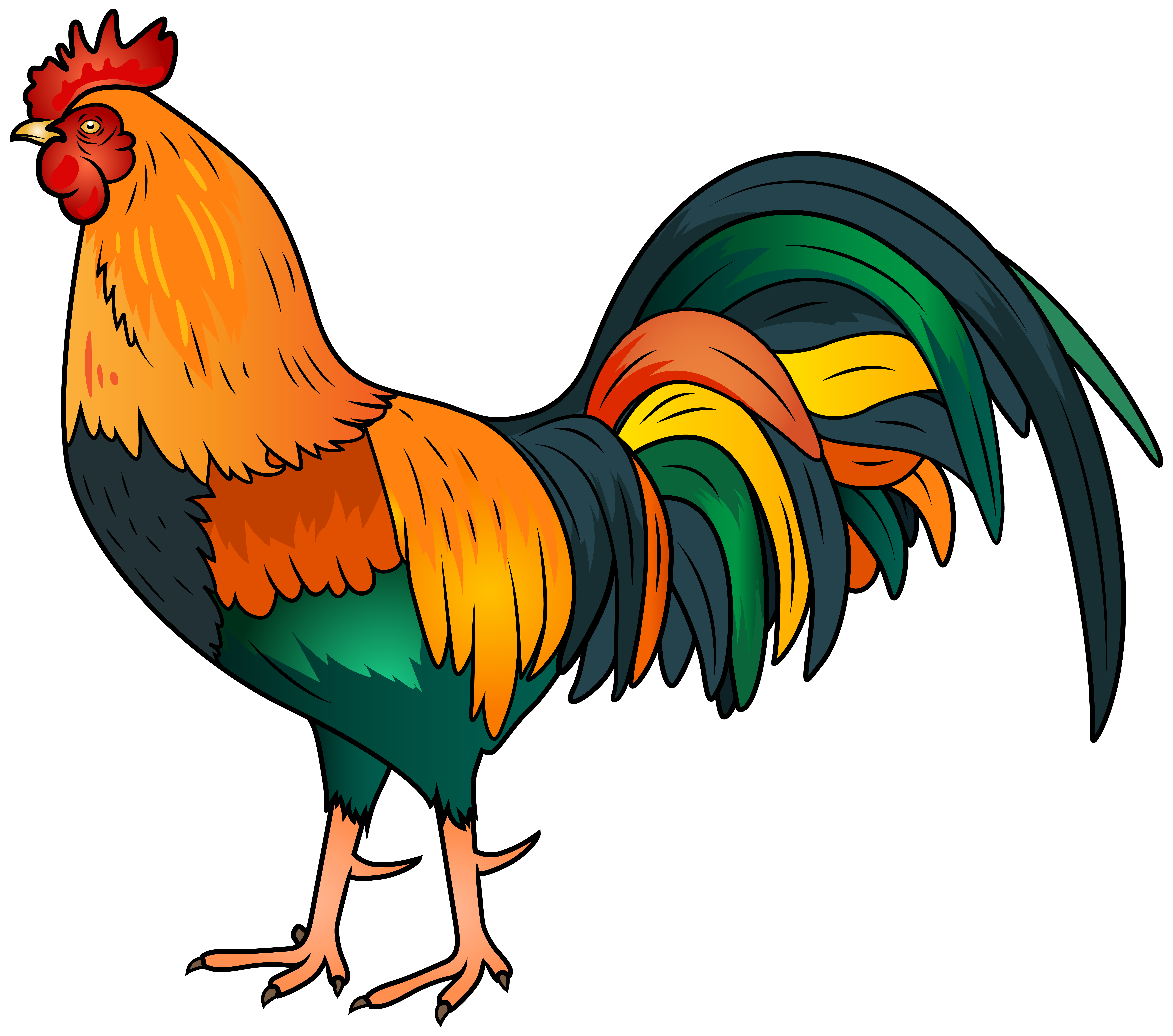 Rooster Png Image