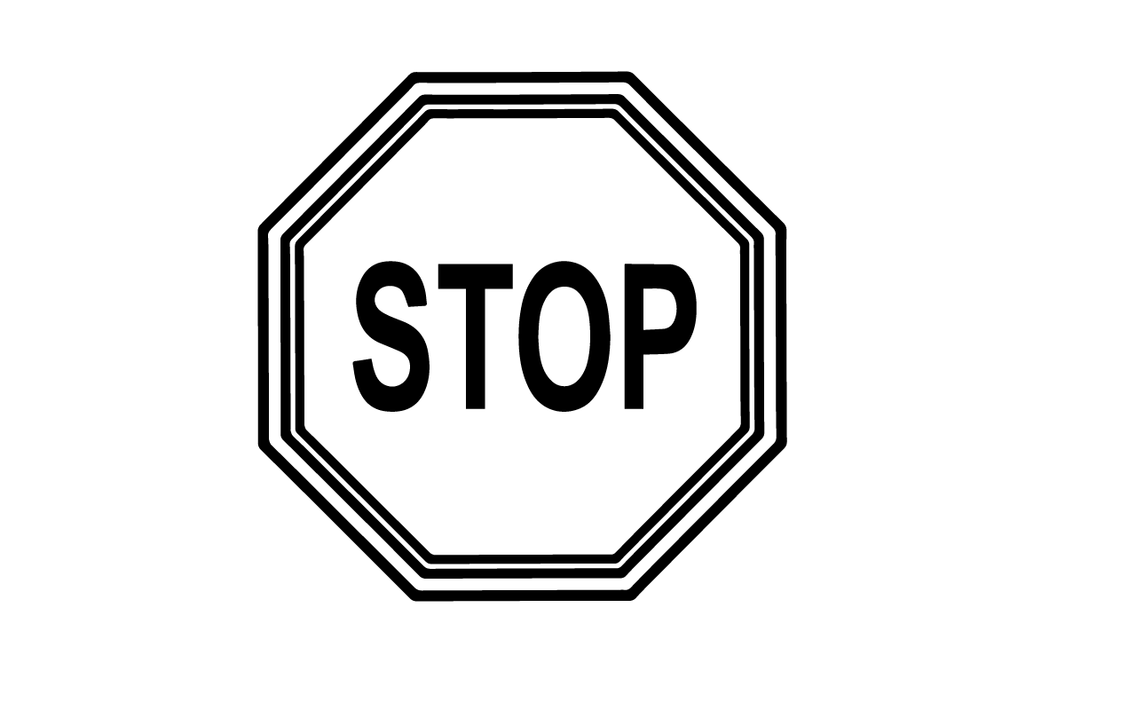 Stop Sign Template Printable Png 3