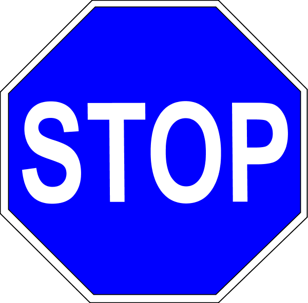 Stop Sign Vector Png
