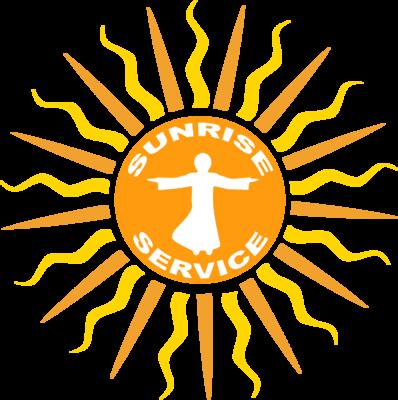 Sunrise Service png