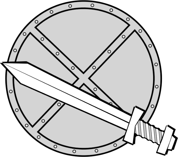 Sword And Shield Png Free Images