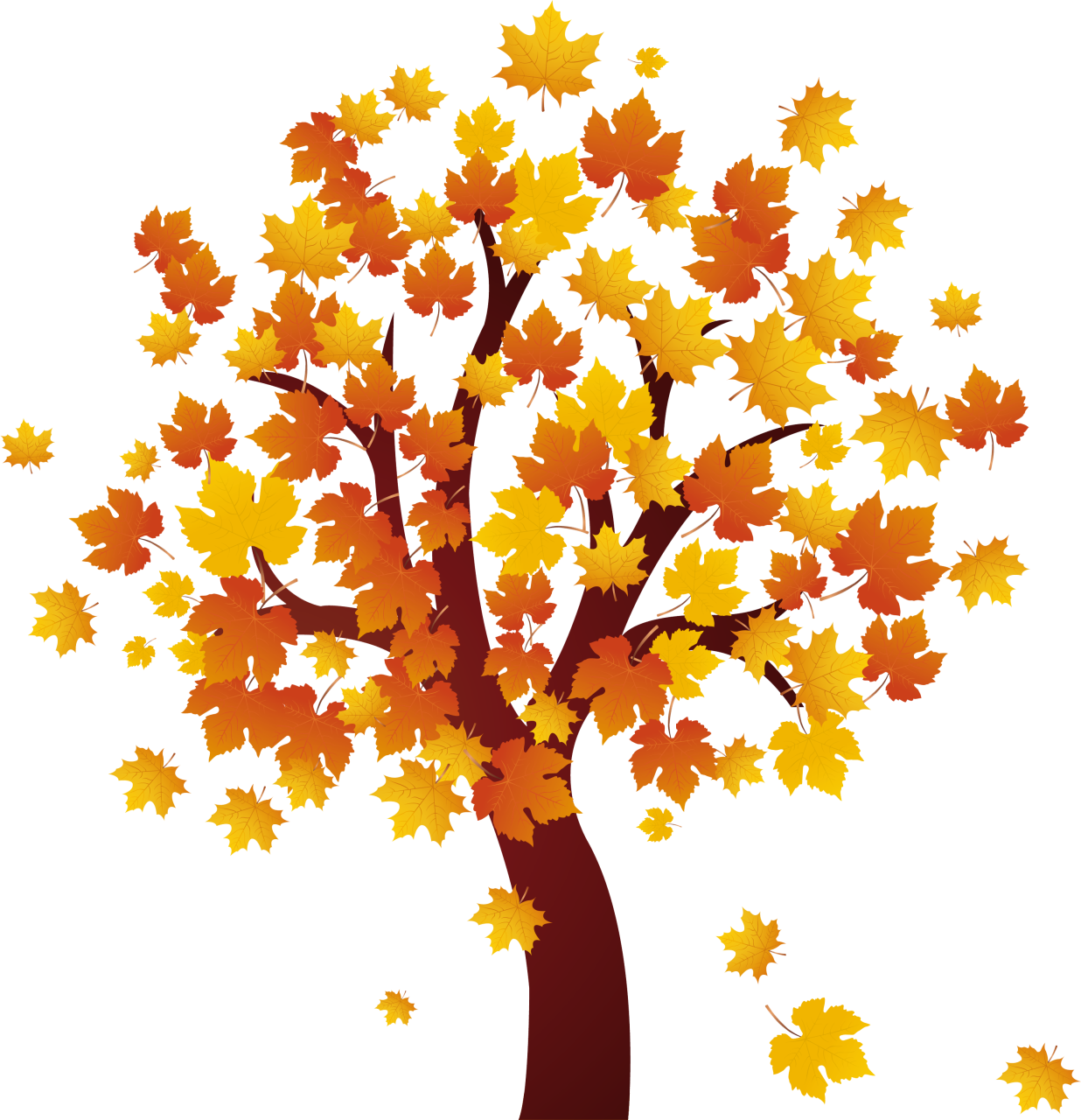 Top Autumn Tree Png Free Png Image