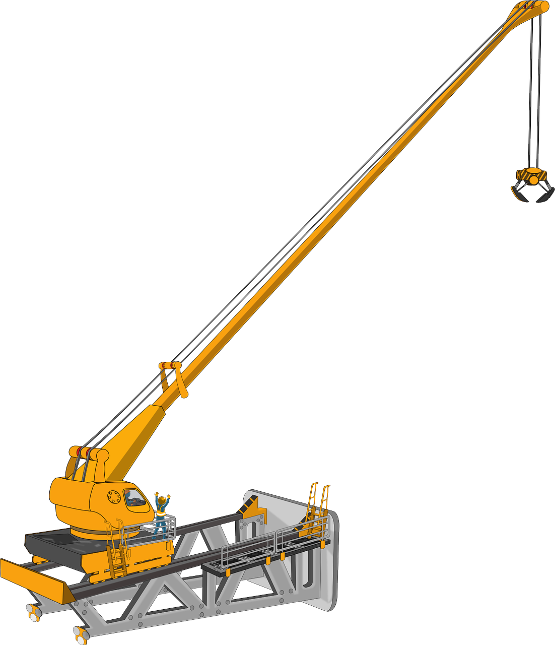 Crane Free To Use Png
