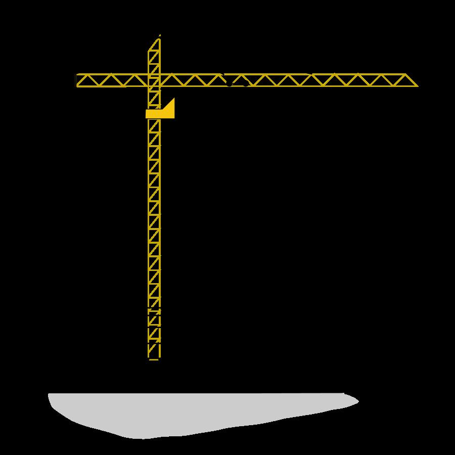 Crane Large Pixel Png Design Pngsfree
