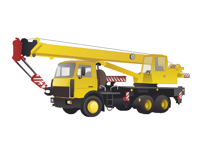 Crane Truck Vehicle Png Aerospace And Transport Industrial