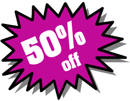 50% Off Free Download png