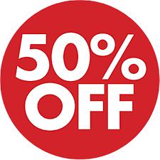 50% Off Free Idea png