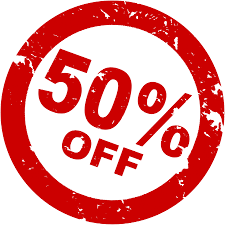 50% Off Free Images png