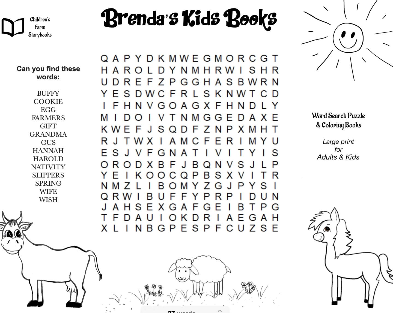 Animal Word Search Printable Free Graphics png
