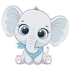 Baby Elephant PNG