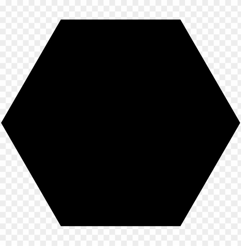 Black Hexagon png