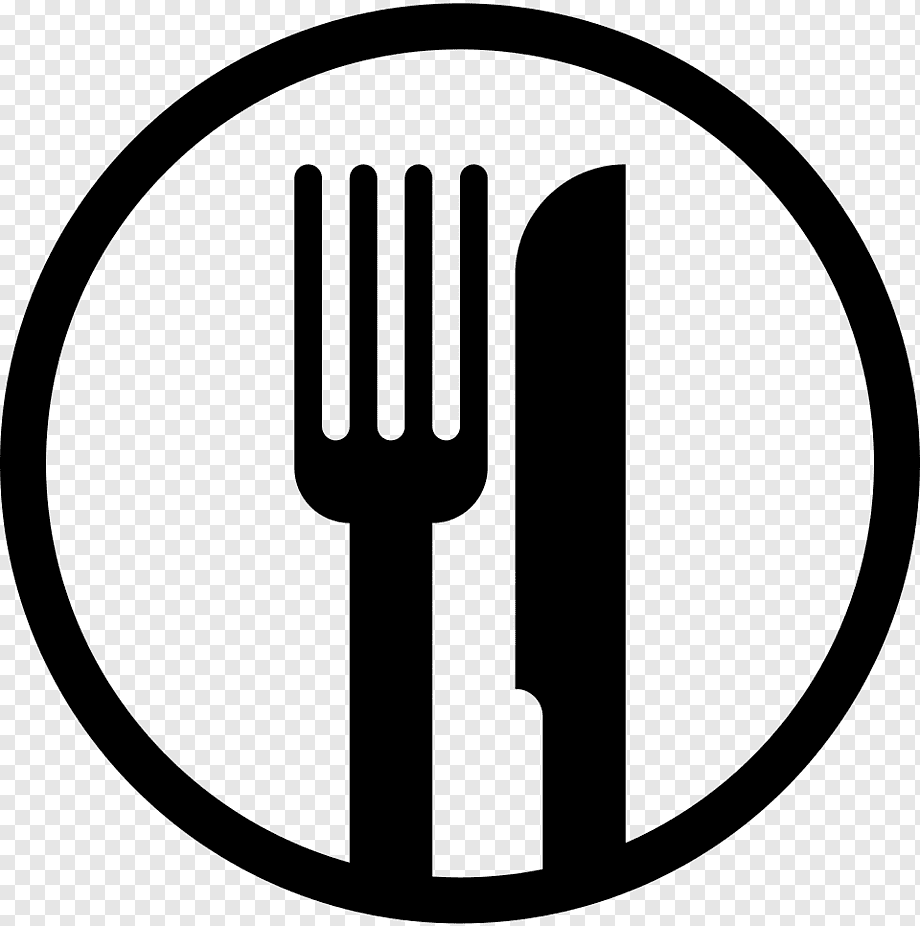 Black Icon Lunch Food Menu Free Transparent Png