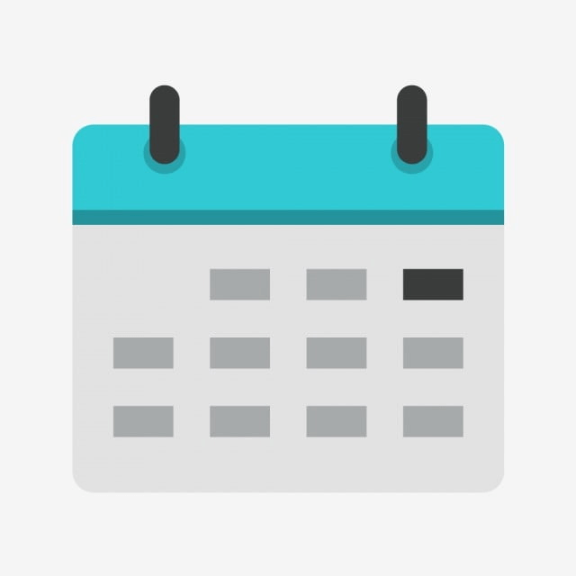 Blue Calender Icon Png