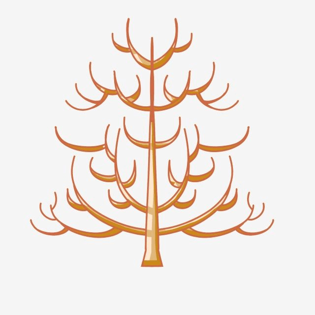 Brown Dead Tree Free Download Png