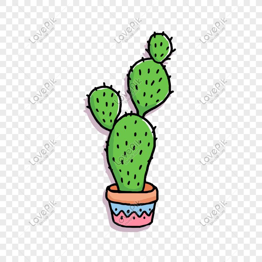 Cartoon Hd Cactus Png