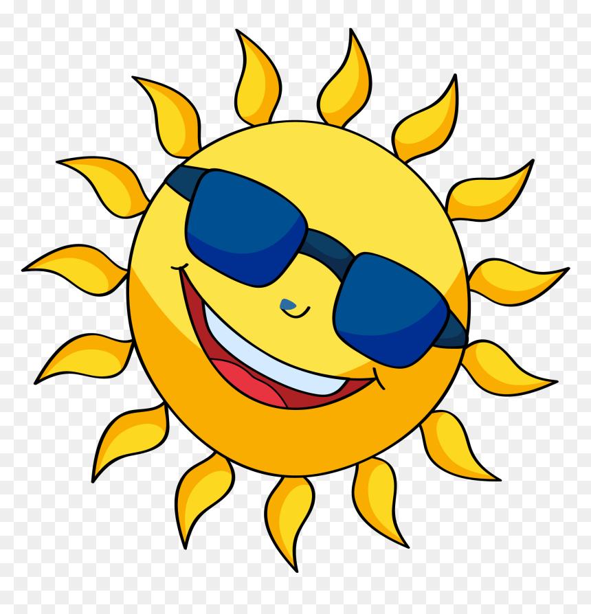 Cartoon Sunrise Smiling png