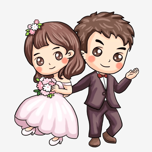 Bride And Groom PNG