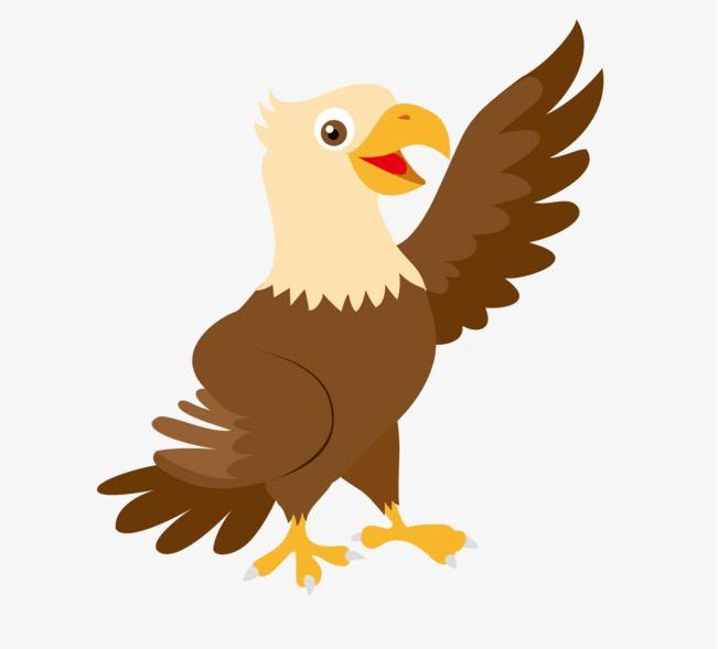 Chibi Cartoon Animal Eagle Png